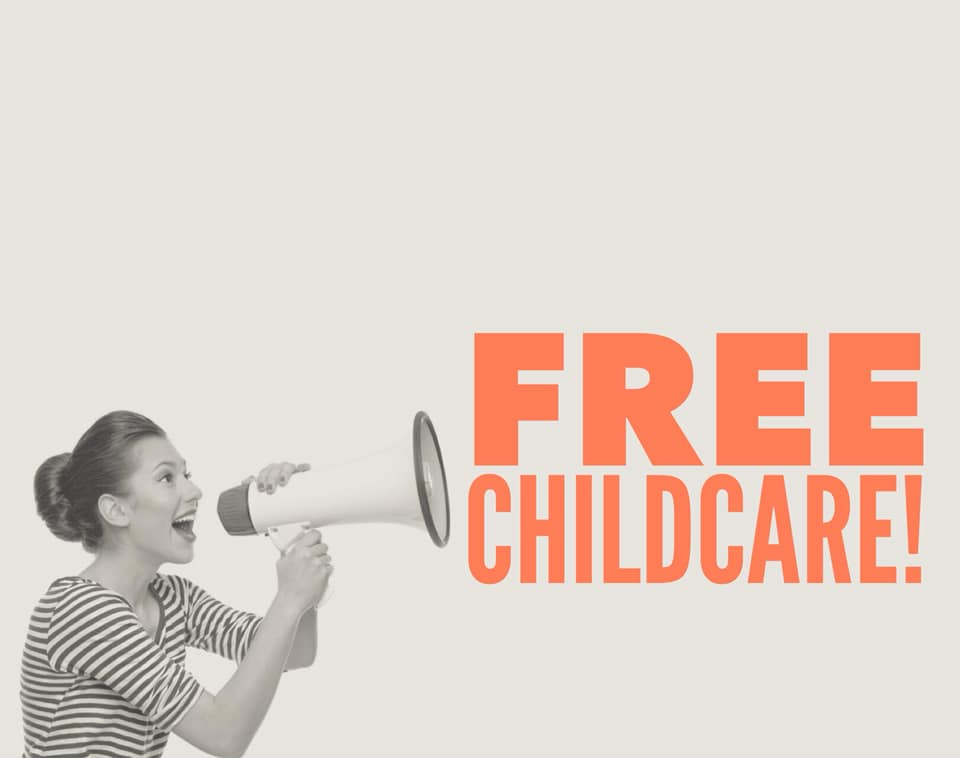 Free childcare at The MOMempowerment Expo