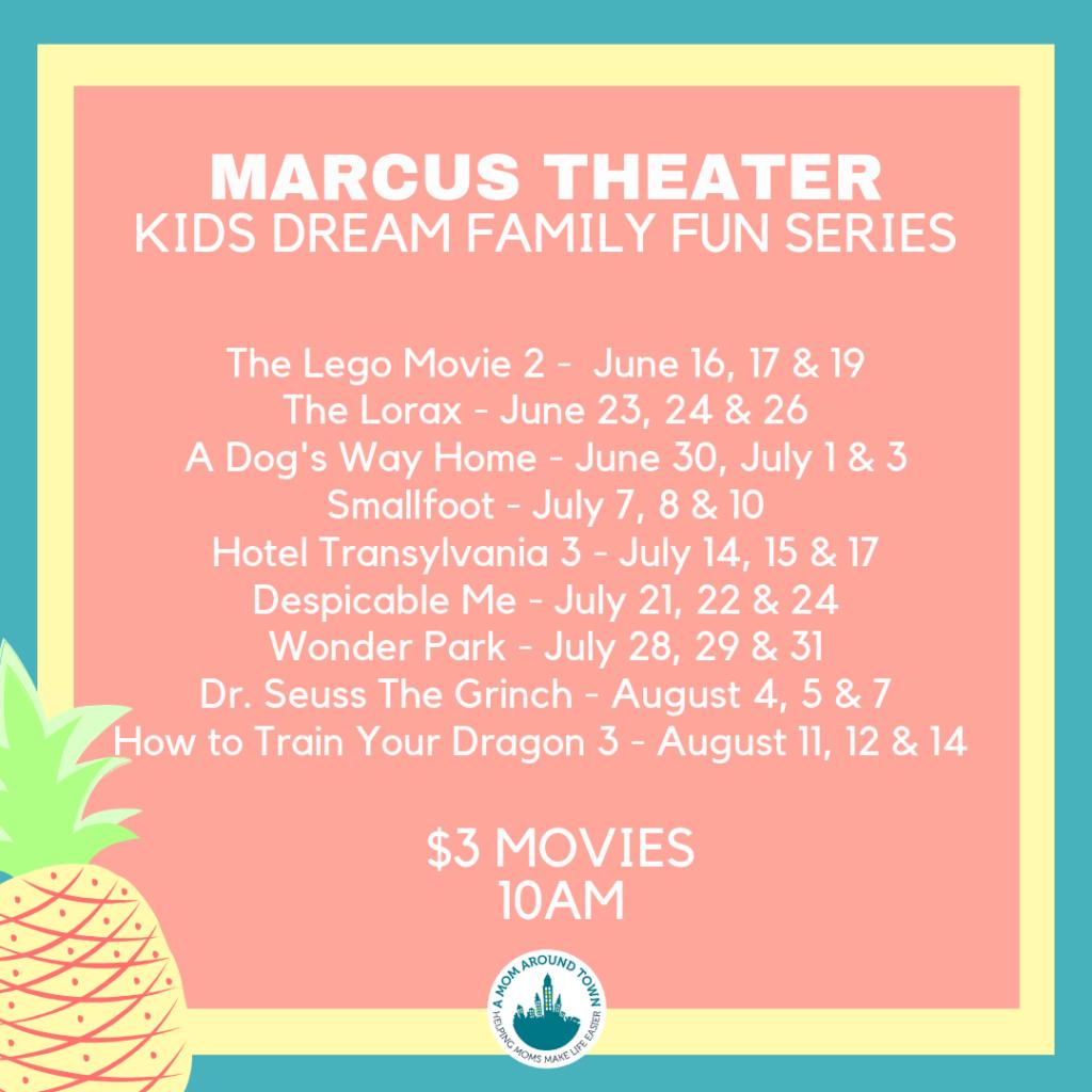 Summer Fun Movies